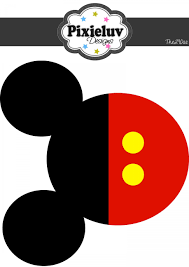 Mickey Mouse Head Vector Free Download Clip Art - WebComicms.Net