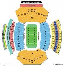 Ice Box Lincoln Ne Seating Chart Elegant As Well As Lovely Nebraska Memorial Stadium Seating