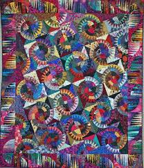 10 best Montana cartwheel quilt images on Pinterest | Montana ... & Quilt Pattern MONTANA CARTWHEEL BORDER Quilting Design Adamdwight.com