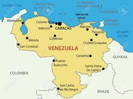 Bolivarian Republic Of Venezuela Map Source For Map Http