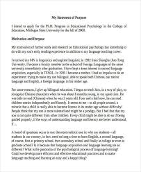 how to write a statement of purpose for graduate school in  7 statements of purpose examples samples education admissions essay sample graduate application