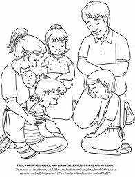 Small Picture Homely Idea Lds Prayer Coloring Page Child Praying Coloring Page