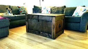 coffee table with storage baskets under wicker basket s
