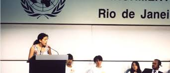 「1992, earth summit in brazil」の画像検索結果