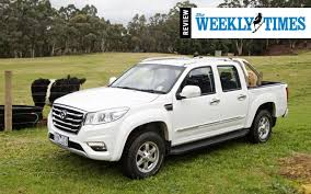 weeklt times great wall steed review weekly times great wall motors