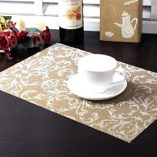 round table mats round table 4 lot dining tables mats bar mat waterproof kitchen accessories dining round table mats
