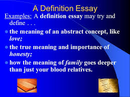 Definition Essay Examples Love Extended Definition Essay Ppt Download
