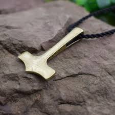 2019 whole new original thor hammer mjolnir viking amulet pendant necklace hammer scandinavian pendant norse talisman sanlan jewelry from herberta