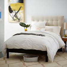 Simple Bed Frame - Chocolate | west elm