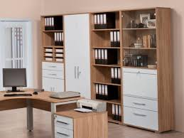 office storage unit. Maja, Modern Office Storage Cabinets With Glass Display Area In Sonoma Oak And White High Unit E