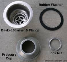 how to install a kitchen sink drain basket in gasket designs 15