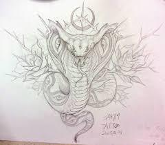 эскизы тату змей значение татуировки со змеей картины
