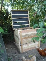 diy pallet wood compost bin elegant brico ecolo composteur bricolaje compostador palets you