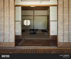 Japanese Sliding Door Design Photography Entrance Image Photo Free Trial Bigstock
