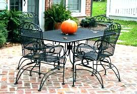 wrought iron patio dining set amazing outdoor vintage wrought iron patio furniture cushions vintage