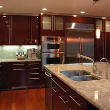dark stained kitchen cabinets. Kitchen, How To Stain Kitchen Cabinets White Glass Door With Oak Cabinet Based Dark Island Stained