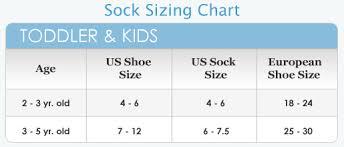 Kids Socks Sizes Kids