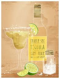 Cocktail Hour - Margarita, Kitchen Canvas Wall Art   GreenBox