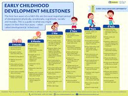 11 Organized 1st Year Developmental Milestones Chart
