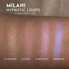Milani Hypnotic Lights Powder Highlighter Review Swatches