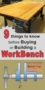 workbench plans tips ideas on