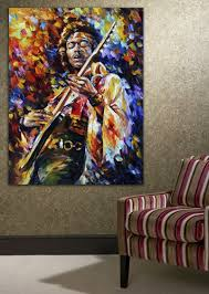 100 handpainted palette knife painting jazz guitarist soul intended for most recently