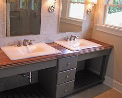 unique bathroom furniture. Adorable Bathroom Amazing Round White Vessel Sink With Wood Rustic Modern In Unique Countertops Furniture S