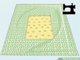 Quillow Pattern Extraordinary How To Make A Quillow With Pictures WikiHow