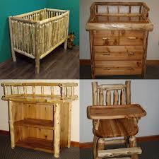 rustic nursery furniture