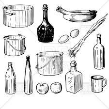 kitchen utensils vector. Kitchen Tools And Utensils Vector Image \u2013 Artwork Of Objects © Mcherevan #23456 T