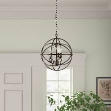 Richwood 3 Light Globe Chandelier Freeman 3 Light Globe Pendant