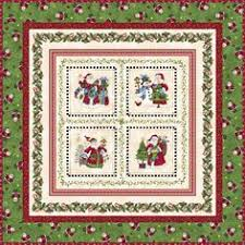 Buttercream Frosting free pattern by Stephanie Prescott. Uses ... & Just Be Claus It's Christmas Quilt Kit by Debbie Beaves for Maywood Studio  KIT/MAS Adamdwight.com