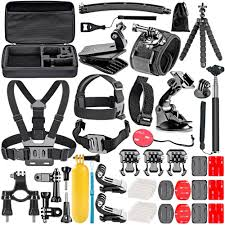 Neewer 50 In 1 <b>Action Camera Accessory</b> Kit for <b>GoPro</b> Session/5 ...