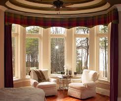 Stock Photo Of Neutral Striped Armchairs And Curtains In Traditional Living Room Curtains