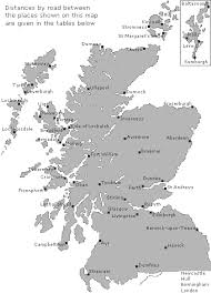 Scotfax Distances By Road On Undiscovered Scotland