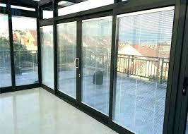 sliding glass garage doors sliding glass garage doors kitchen with private courtyard outside sliding glass door