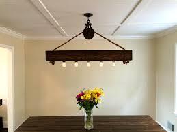 lighting fixtures elegant diy edison light chandelier for