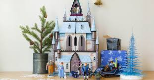 your frozen fan will be amazed by this arendelle castle play set disney family