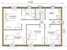 plan maison d architecte simple maison moderne plan gratuit