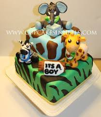 Best 25 Jungle Theme Cakes Ideas On Pinterest  Party Food Jungle Baby Shower Safari Cakes