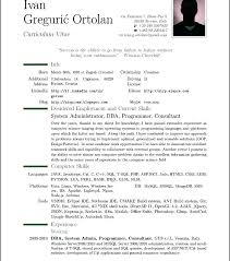 Sample Resume Format Gorgeous Free Sample Resume Templates As Well As General Format For Resume
