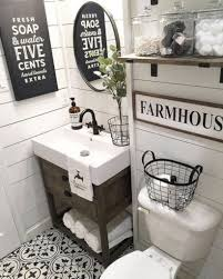 Image Modern Farmhouse Published February 17 2018 At 820 1023 In 47 Captivating Small Farmhouse Bathrooms Decoration Ideas Round Decor Captivating Small Farmhouse Bathrooms Decoration Ideas 12 Round