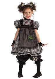 child s gothic rag doll costume