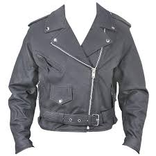 women s black belted leather motorcycle jacket