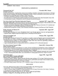 Resume Examples For Students Enchanting Career Services Sample Resumes For Graduate Students And Postdocs