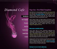Free Flash Web Template Collection Of Free Flash Website Templates With Fla Source