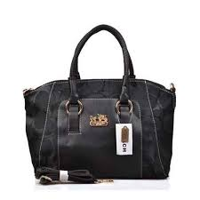 Coach Madison Signature Medium Black Totes DPC