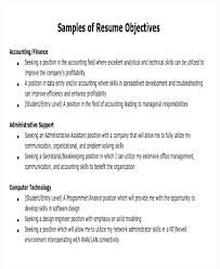 My Objective For Resume Profession Aims Resume Instance Career