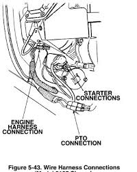 gt2544 pto clutch page 2 the pto wiring looks like this