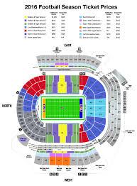 cu seating chart  colorado folsom field seating chart folsom